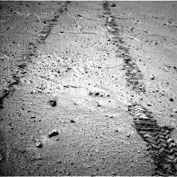 Nasa's Mars rover Curiosity acquired this image using its Left Navigation Camera on Sol 548, at drive 736, site number 27