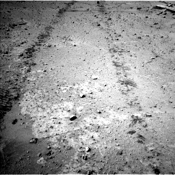 Nasa's Mars rover Curiosity acquired this image using its Left Navigation Camera on Sol 548, at drive 820, site number 27