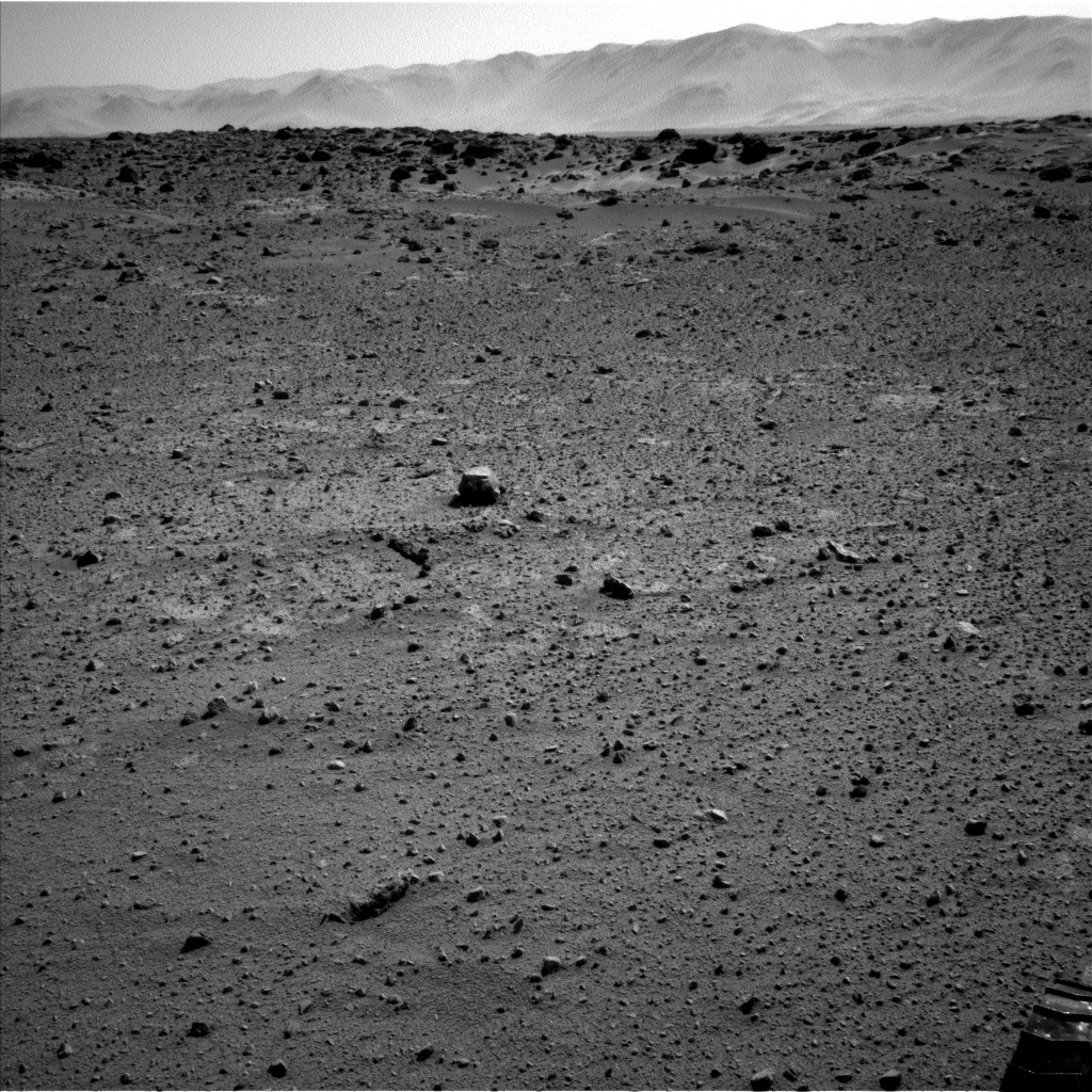 Nasa's Mars rover Curiosity acquired this image using its Left Navigation Camera on Sol 548, at drive 968, site number 27