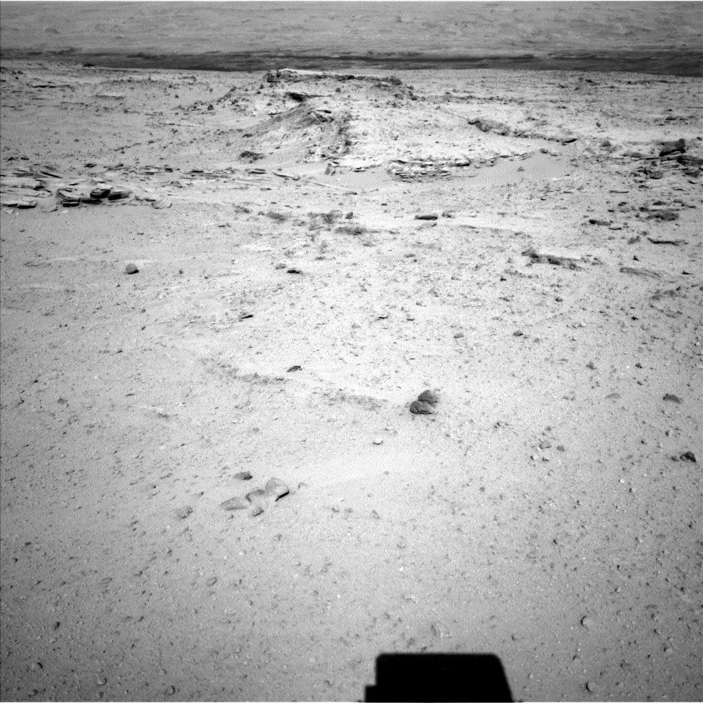 NASA's Mars rover Curiosity acquired this image using its Left Navigation Camera (Navcams) on Sol 548