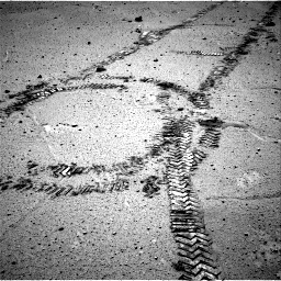 Nasa's Mars rover Curiosity acquired this image using its Right Navigation Camera on Sol 548, at drive 556, site number 27