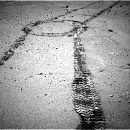 Nasa's Mars rover Curiosity acquired this image using its Right Navigation Camera on Sol 548, at drive 580, site number 27