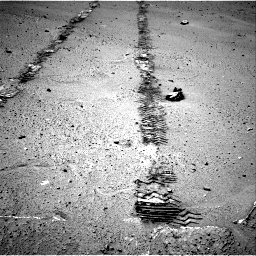 Nasa's Mars rover Curiosity acquired this image using its Right Navigation Camera on Sol 548, at drive 688, site number 27