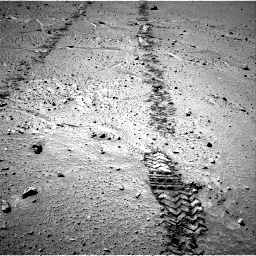 Nasa's Mars rover Curiosity acquired this image using its Right Navigation Camera on Sol 548, at drive 736, site number 27