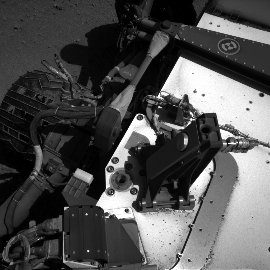 Nasa's Mars rover Curiosity acquired this image using its Right Navigation Camera on Sol 548, at drive 748, site number 27