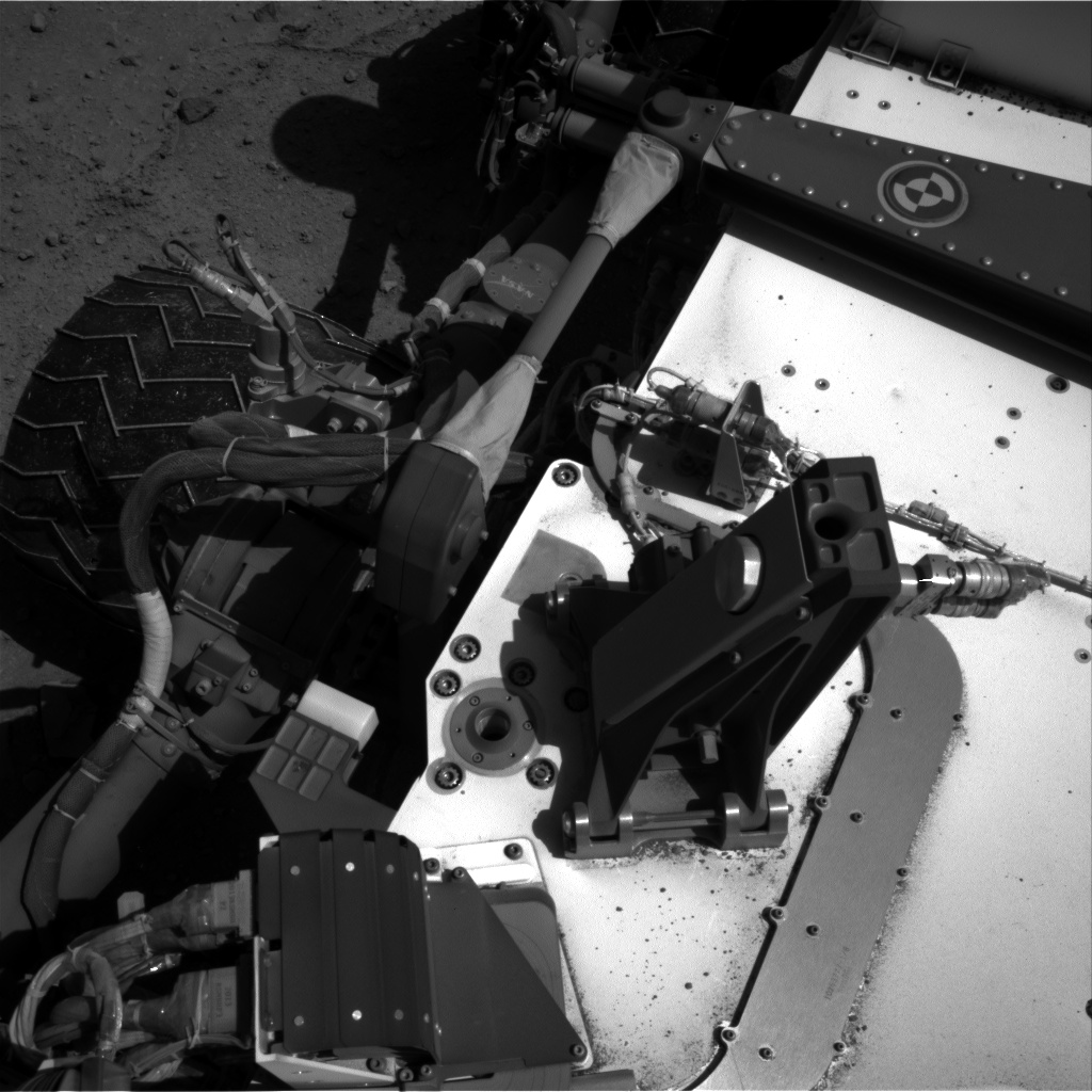 Nasa's Mars rover Curiosity acquired this image using its Right Navigation Camera on Sol 548, at drive 778, site number 27