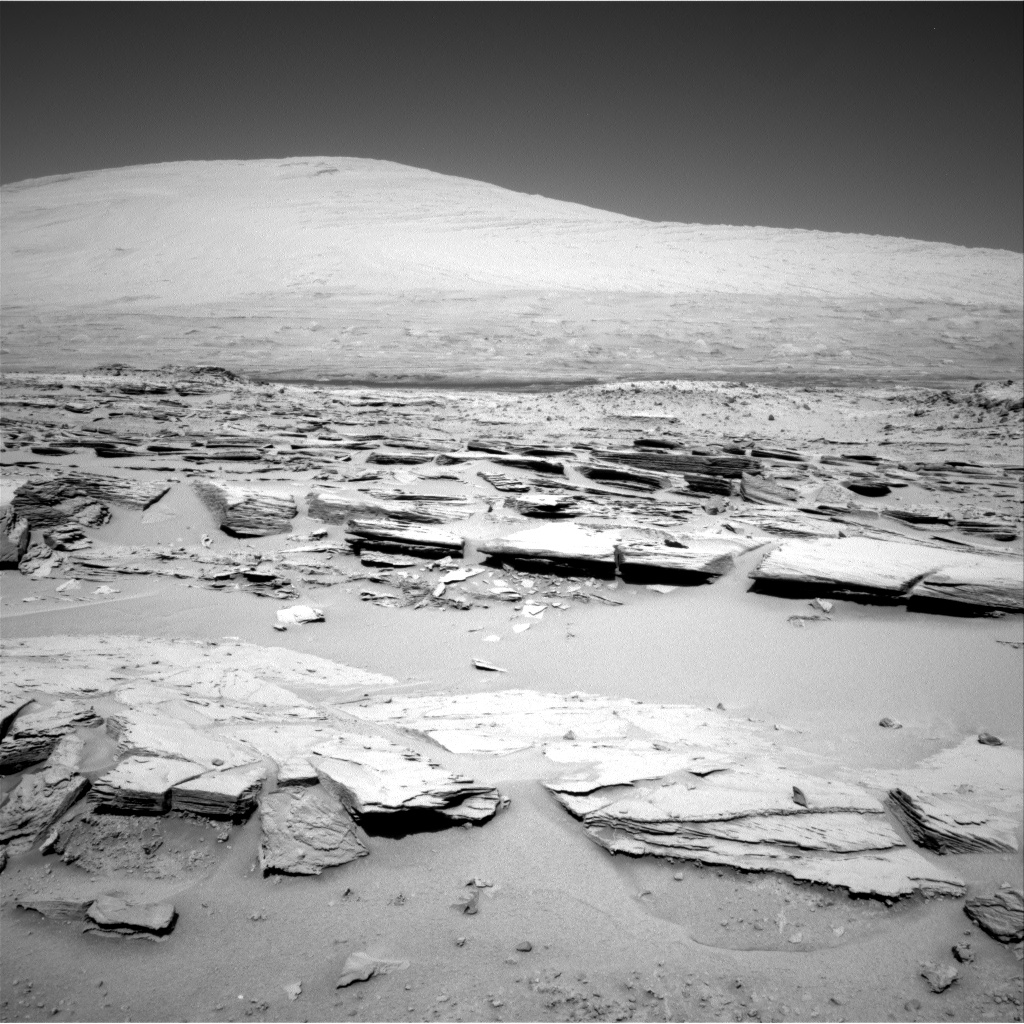 Nasa's Mars rover Curiosity acquired this image using its Right Navigation Camera on Sol 548, at drive 802, site number 27