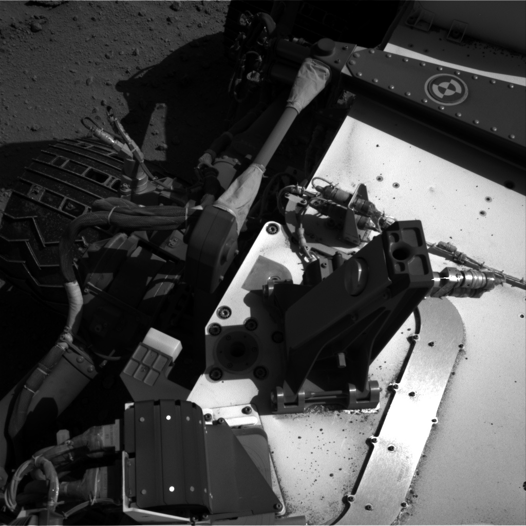 Nasa's Mars rover Curiosity acquired this image using its Right Navigation Camera on Sol 548, at drive 880, site number 27