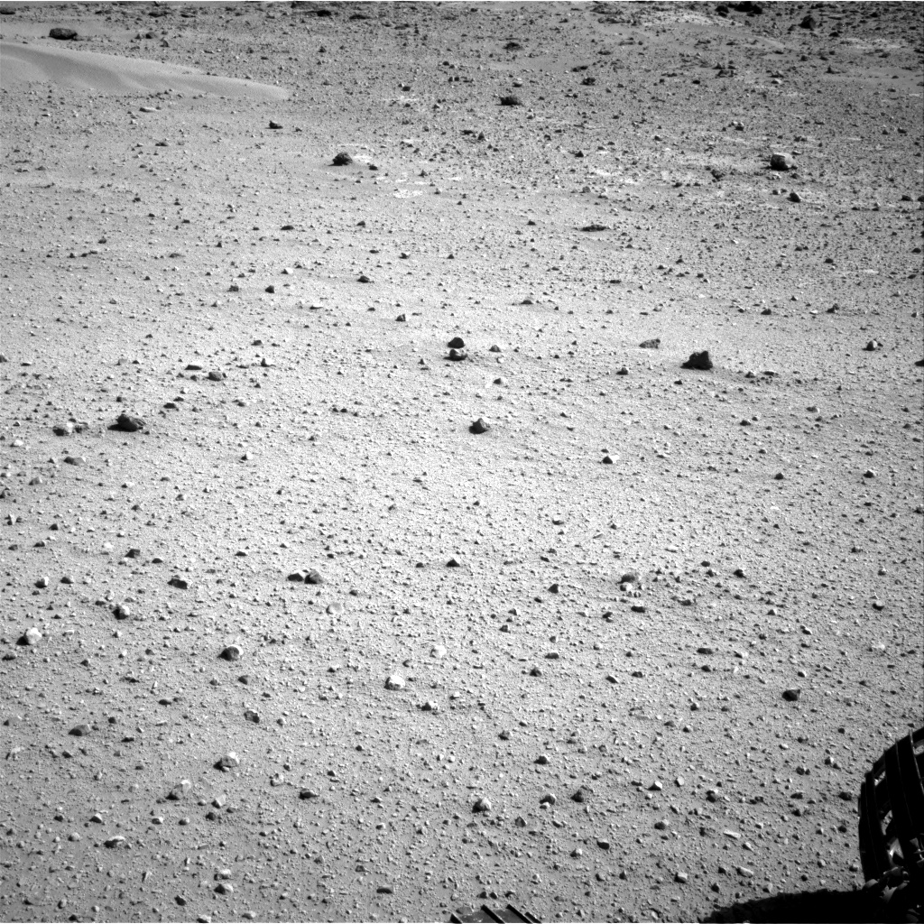 Nasa's Mars rover Curiosity acquired this image using its Right Navigation Camera on Sol 548, at drive 946, site number 27