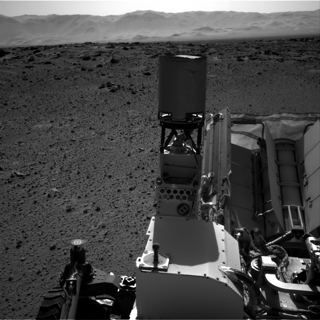 Nasa's Mars rover Curiosity acquired this image using its Right Navigation Camera on Sol 548, at drive 968, site number 27