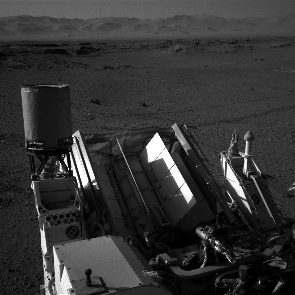 Nasa's Mars rover Curiosity acquired this image using its Left Navigation Camera on Sol 549, at drive 1004, site number 27