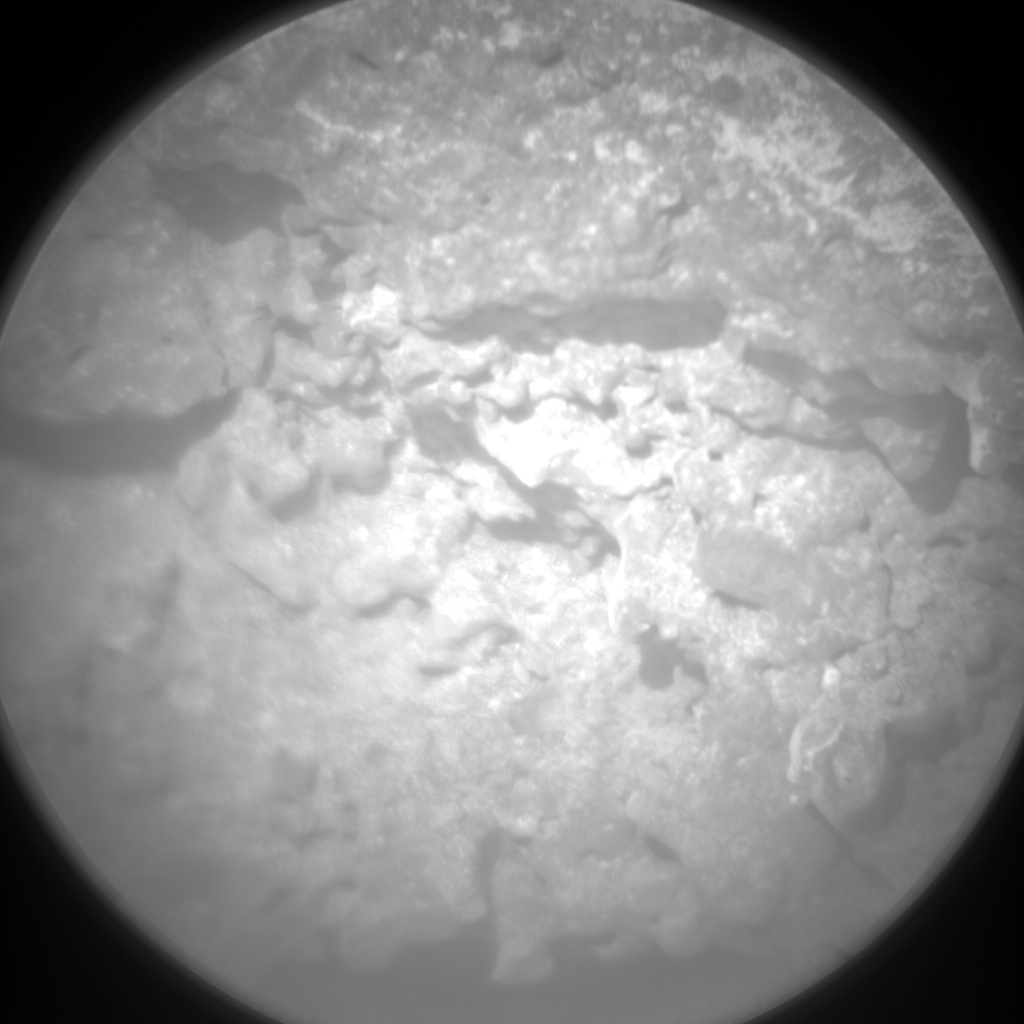Nasa's Mars rover Curiosity acquired this image using its Chemistry & Camera (ChemCam) on Sol 550, at drive 1004, site number 27