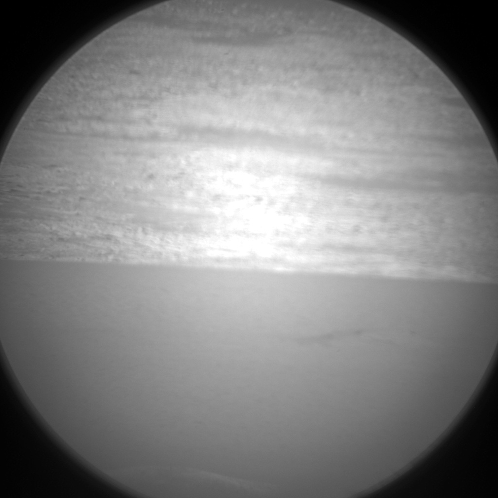 Nasa's Mars rover Curiosity acquired this image using its Chemistry & Camera (ChemCam) on Sol 550, at drive 1124, site number 27
