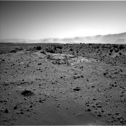 Nasa's Mars rover Curiosity acquired this image using its Left Navigation Camera on Sol 550, at drive 1088, site number 27