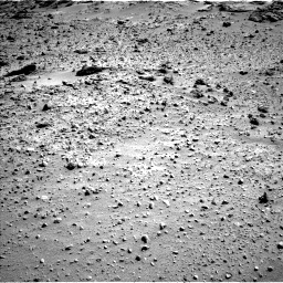 Nasa's Mars rover Curiosity acquired this image using its Left Navigation Camera on Sol 550, at drive 1124, site number 27
