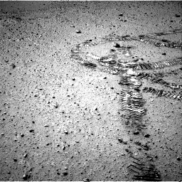 Nasa's Mars rover Curiosity acquired this image using its Right Navigation Camera on Sol 550, at drive 1016, site number 27