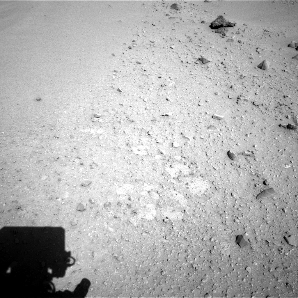 Nasa's Mars rover Curiosity acquired this image using its Right Navigation Camera on Sol 550, at drive 1094, site number 27