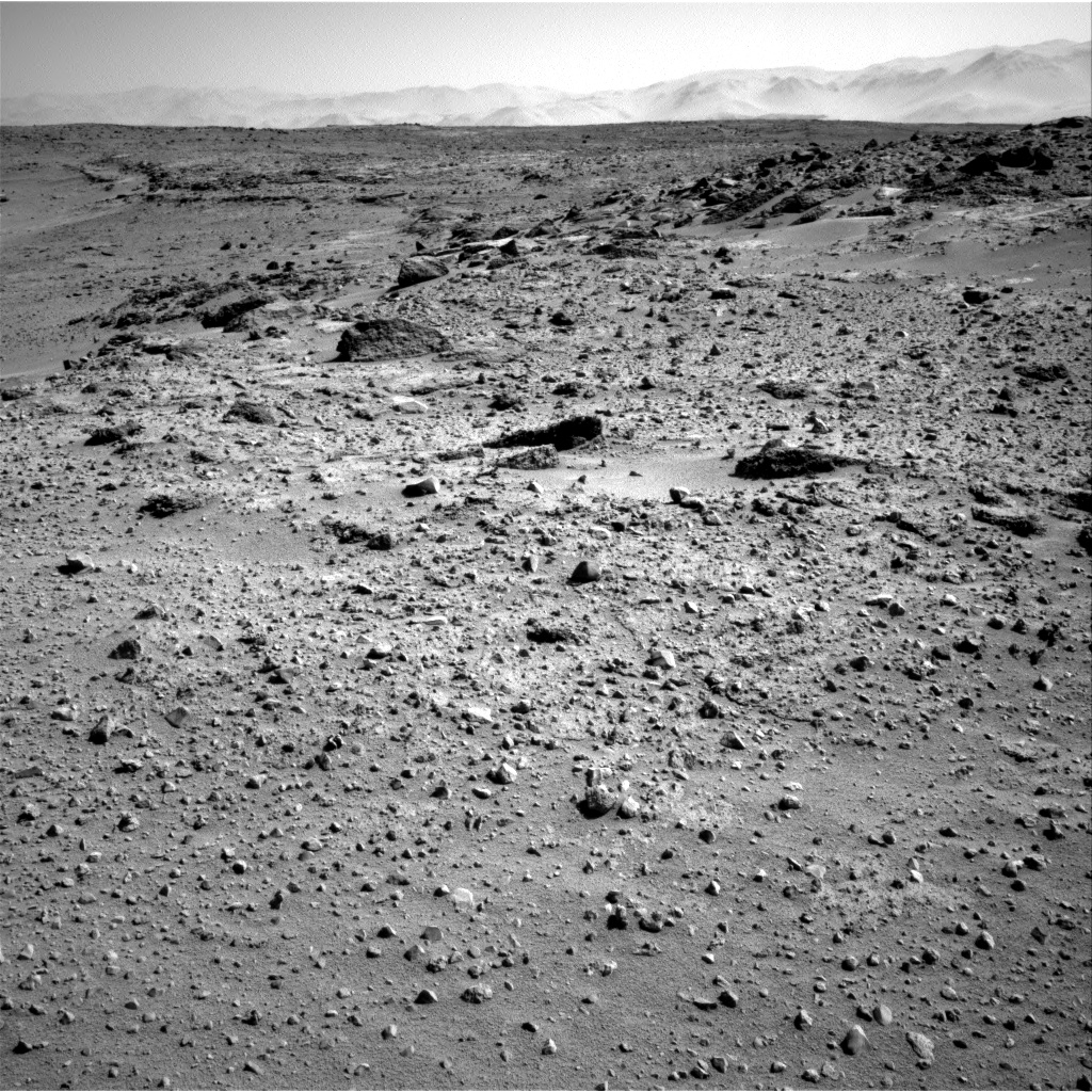 Nasa's Mars rover Curiosity acquired this image using its Right Navigation Camera on Sol 550, at drive 1124, site number 27