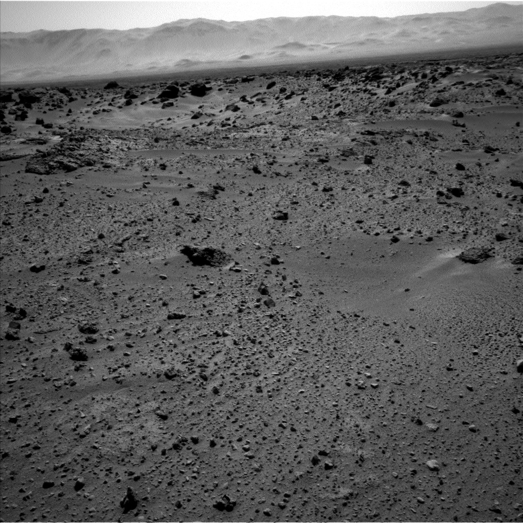 Nasa's Mars rover Curiosity acquired this image using its Left Navigation Camera on Sol 551, at drive 1124, site number 27