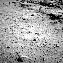 Nasa's Mars rover Curiosity acquired this image using its Left Navigation Camera on Sol 552, at drive 1490, site number 27