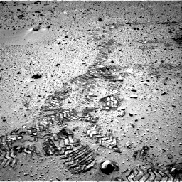 Nasa's Mars rover Curiosity acquired this image using its Right Navigation Camera on Sol 552, at drive 1184, site number 27