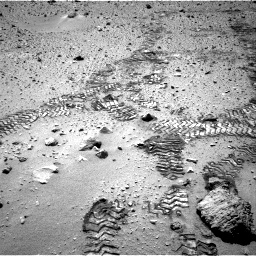 Nasa's Mars rover Curiosity acquired this image using its Right Navigation Camera on Sol 552, at drive 1196, site number 27
