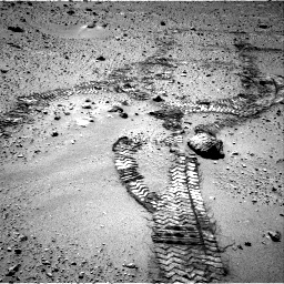 Nasa's Mars rover Curiosity acquired this image using its Right Navigation Camera on Sol 552, at drive 1208, site number 27