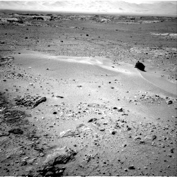 Nasa's Mars rover Curiosity acquired this image using its Right Navigation Camera on Sol 552, at drive 1244, site number 27