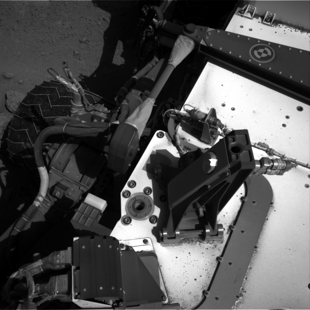 Nasa's Mars rover Curiosity acquired this image using its Right Navigation Camera on Sol 552, at drive 1316, site number 27
