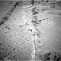 Nasa's Mars rover Curiosity acquired this image using its Right Navigation Camera on Sol 552, at drive 1328, site number 27