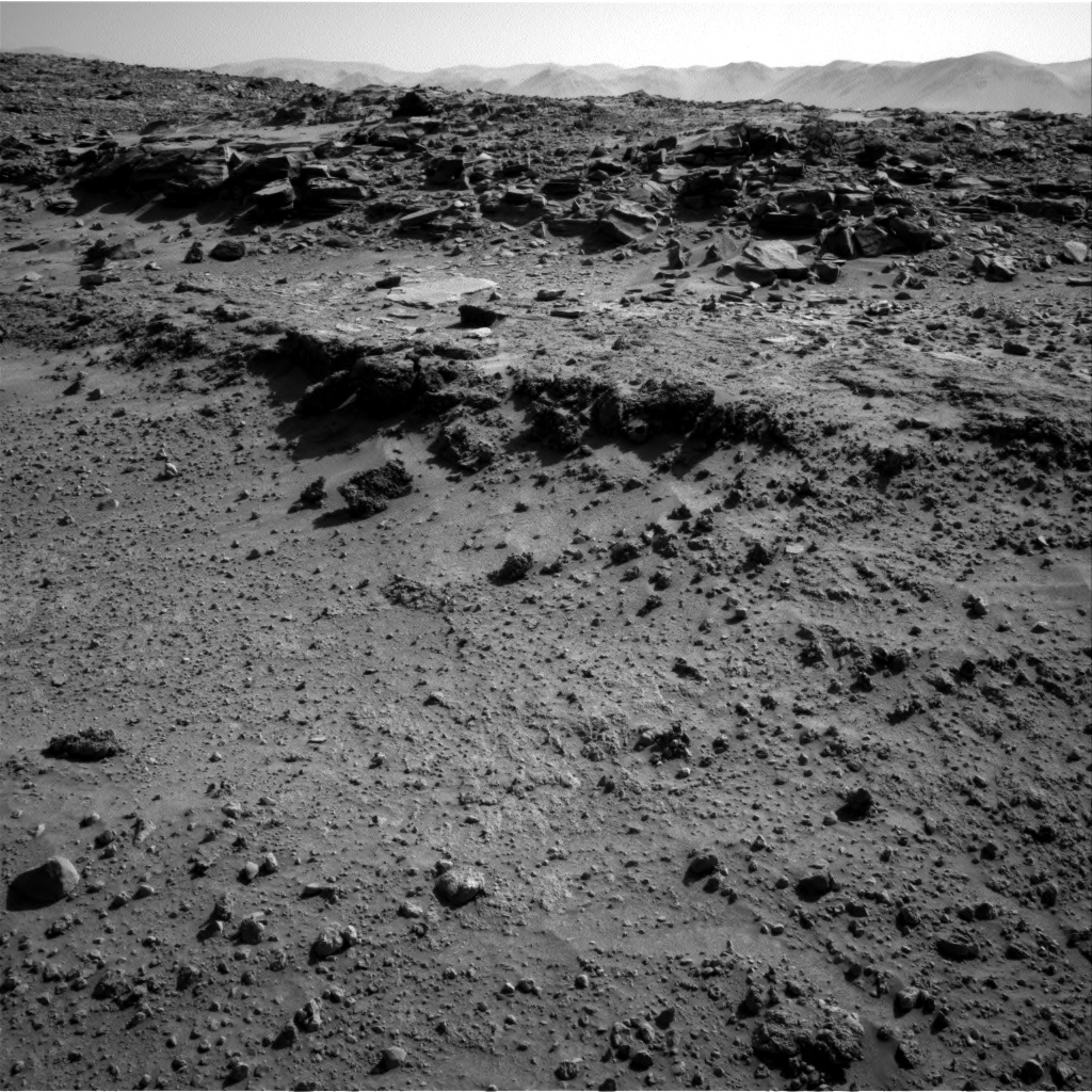 Nasa's Mars rover Curiosity acquired this image using its Right Navigation Camera on Sol 552, at drive 0, site number 28