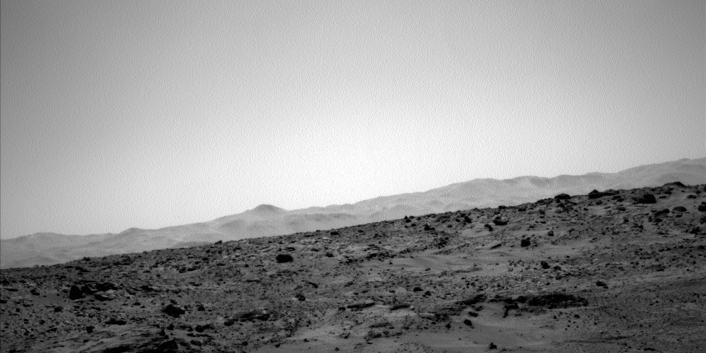 Nasa's Mars rover Curiosity acquired this image using its Left Navigation Camera on Sol 553, at drive 0, site number 28