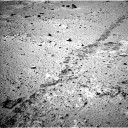 Nasa's Mars rover Curiosity acquired this image using its Left Navigation Camera on Sol 553, at drive 12, site number 28