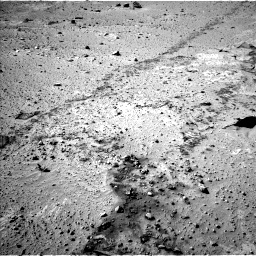 Nasa's Mars rover Curiosity acquired this image using its Left Navigation Camera on Sol 553, at drive 24, site number 28