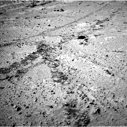 Nasa's Mars rover Curiosity acquired this image using its Left Navigation Camera on Sol 553, at drive 42, site number 28