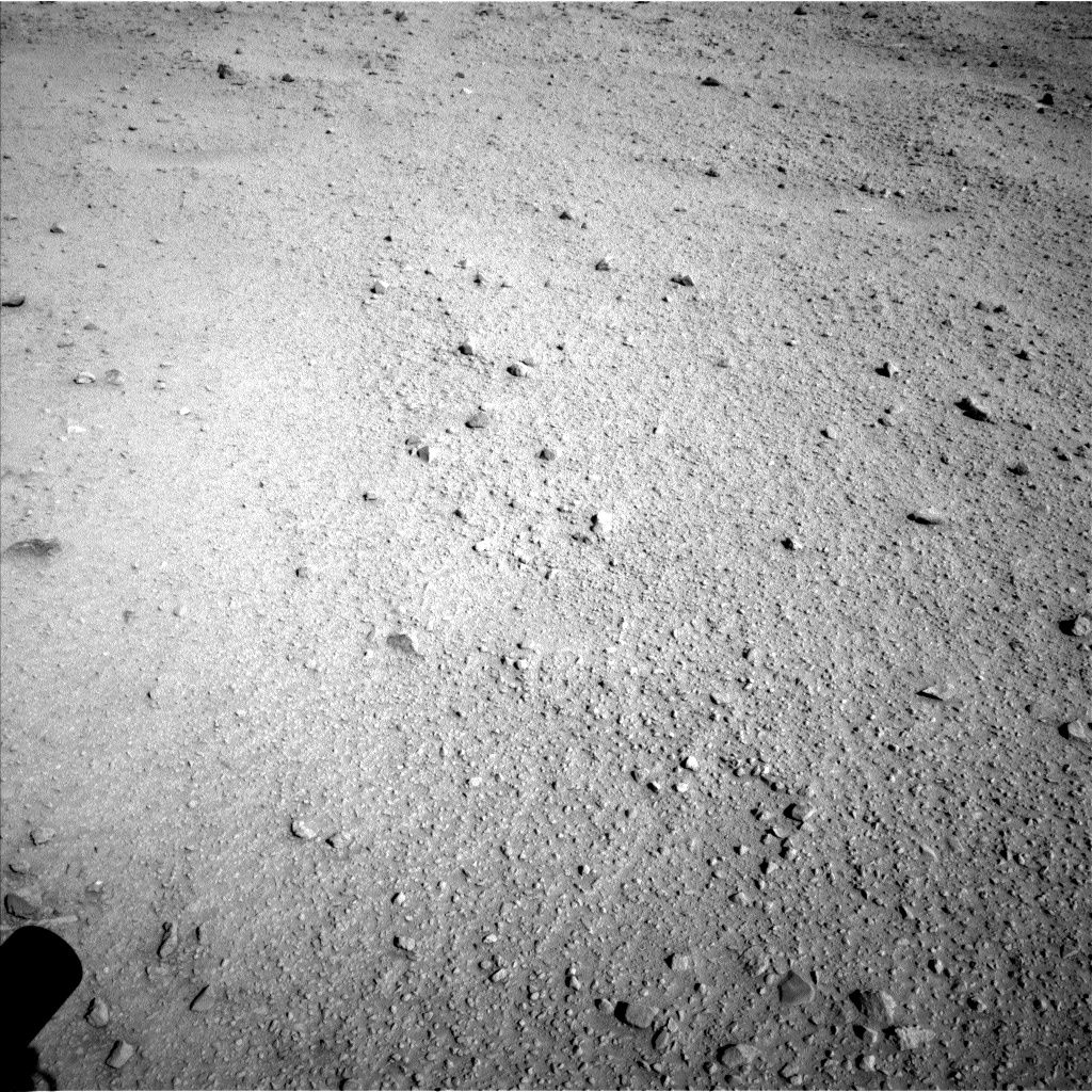 Nasa's Mars rover Curiosity acquired this image using its Left Navigation Camera on Sol 553, at drive 240, site number 28