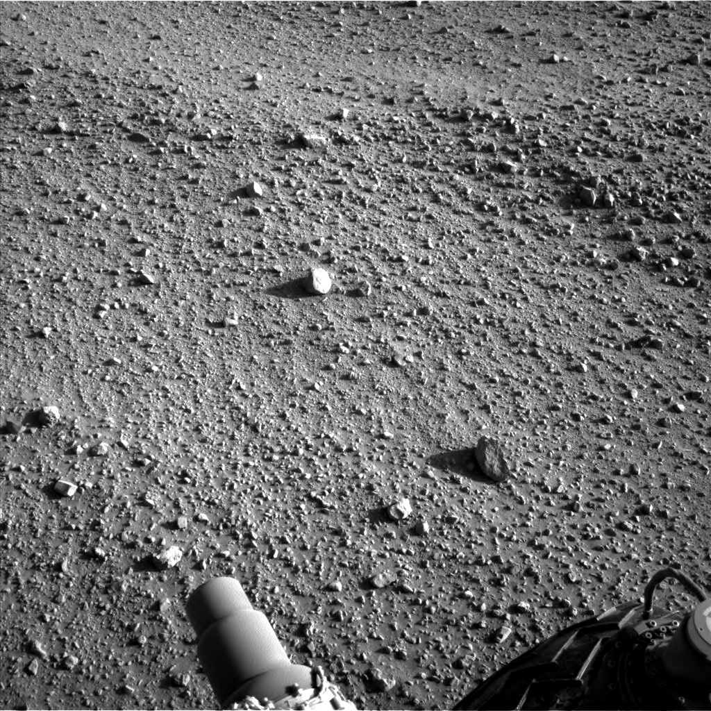 Nasa's Mars rover Curiosity acquired this image using its Left Navigation Camera on Sol 553, at drive 264, site number 28