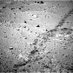 Nasa's Mars rover Curiosity acquired this image using its Right Navigation Camera on Sol 553, at drive 6, site number 28