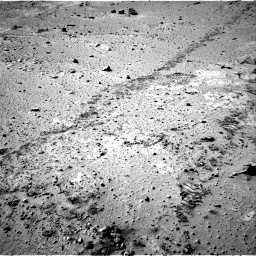 Nasa's Mars rover Curiosity acquired this image using its Right Navigation Camera on Sol 553, at drive 18, site number 28