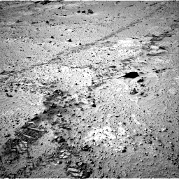 Nasa's Mars rover Curiosity acquired this image using its Right Navigation Camera on Sol 553, at drive 30, site number 28
