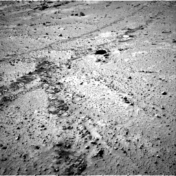 Nasa's Mars rover Curiosity acquired this image using its Right Navigation Camera on Sol 553, at drive 42, site number 28