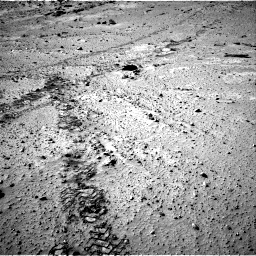 Nasa's Mars rover Curiosity acquired this image using its Right Navigation Camera on Sol 553, at drive 48, site number 28