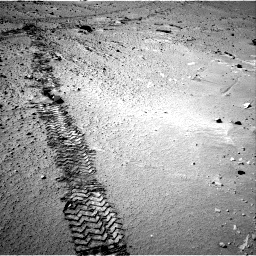 Nasa's Mars rover Curiosity acquired this image using its Right Navigation Camera on Sol 553, at drive 72, site number 28