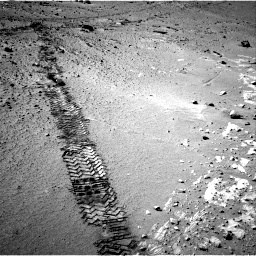 Nasa's Mars rover Curiosity acquired this image using its Right Navigation Camera on Sol 553, at drive 78, site number 28