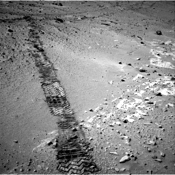 Nasa's Mars rover Curiosity acquired this image using its Right Navigation Camera on Sol 553, at drive 84, site number 28
