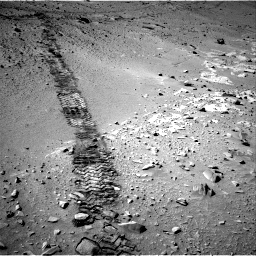 Nasa's Mars rover Curiosity acquired this image using its Right Navigation Camera on Sol 553, at drive 90, site number 28