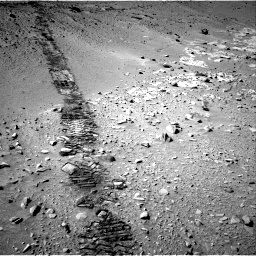 Nasa's Mars rover Curiosity acquired this image using its Right Navigation Camera on Sol 553, at drive 96, site number 28