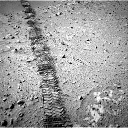 Nasa's Mars rover Curiosity acquired this image using its Right Navigation Camera on Sol 553, at drive 120, site number 28