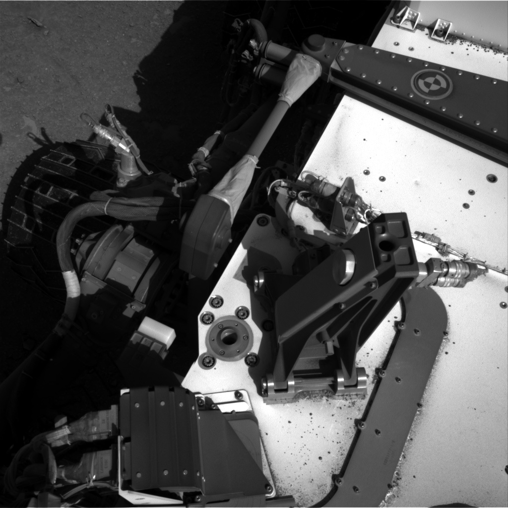 Nasa's Mars rover Curiosity acquired this image using its Right Navigation Camera on Sol 553, at drive 150, site number 28