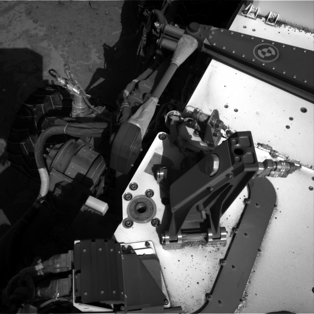 Nasa's Mars rover Curiosity acquired this image using its Right Navigation Camera on Sol 553, at drive 174, site number 28